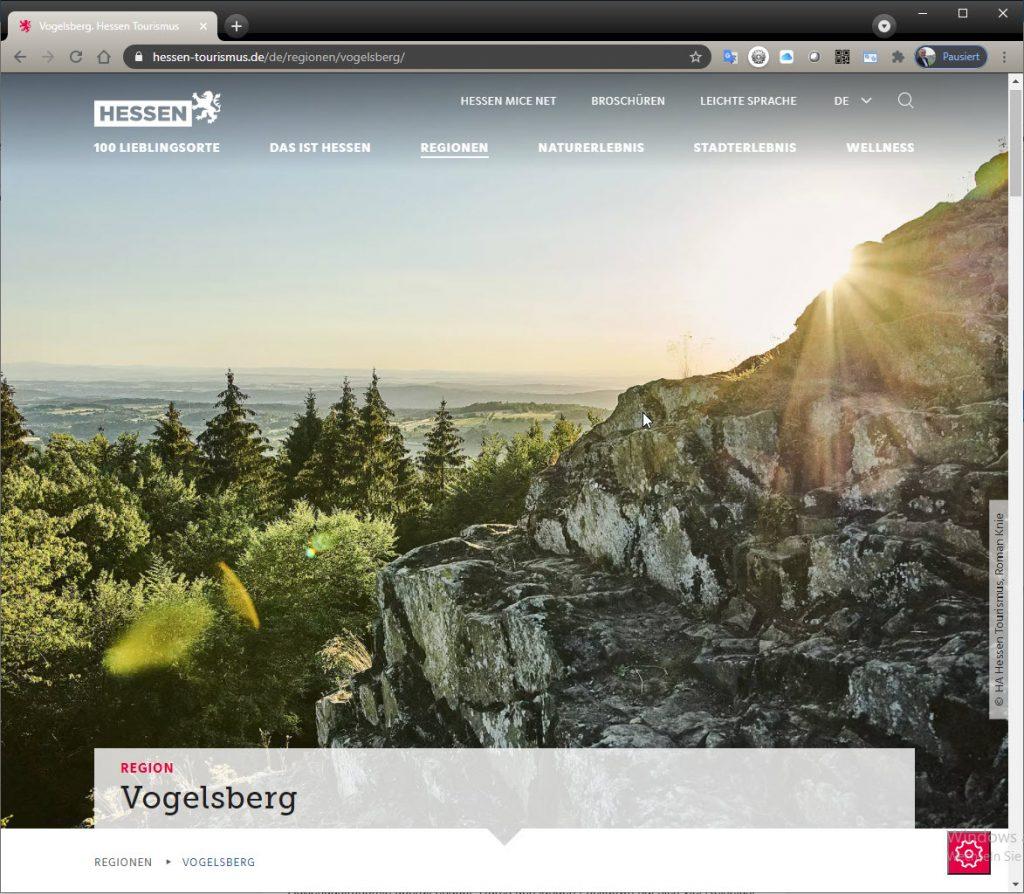 Restart des Tourismus in Hessen: Komm auf den Vogelsberg